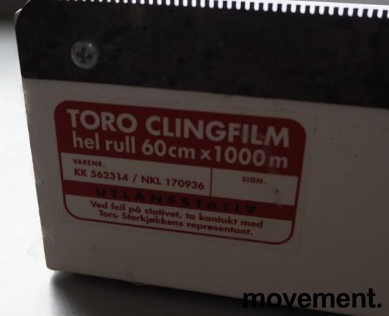 Toro Clingfilm-dispenser for ruller 60cm, pent brukt bilde 2