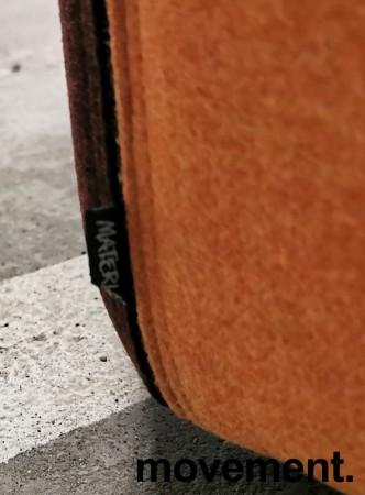 Stor, åttekantet sittepuff fra Materia i flerfarget stoff, Ribbon serie, Ø=120cm H=41cm, pent brukt bilde 4