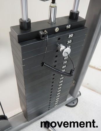 Multigym treningsapparat fra Casall, kabelmaskin / cable crossover, pent brukt bilde 4
