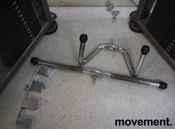 Multigym treningsapparat fra Casall, kabelmaskin / cable crossover, pent brukt bilde 5