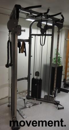 Multigym treningsapparat fra Casall, kabelmaskin / cable crossover, pent brukt bilde 1