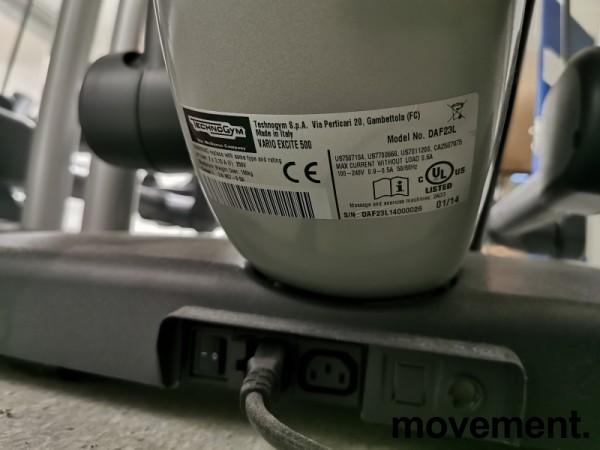 Technogym profesjonell Stepmaskin, modell Vario Exc 700 SP, pent brukt bilde 4