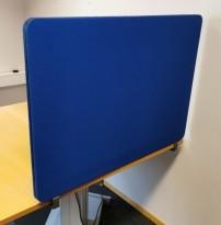 Bordskillevegg fra Lintex i blått, 100cm bredde, 70cm høyde, pent brukt