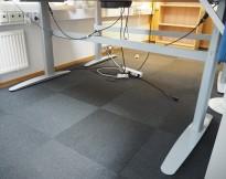 Linak elektrisk hevsenk-understell i grått, passer 180plater og større, pent brukt