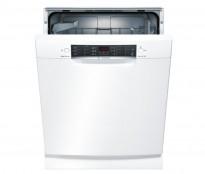 Bosch Series 4 SMU46KW01S/02 oppvaskmaskin i hvitt, pent brukt