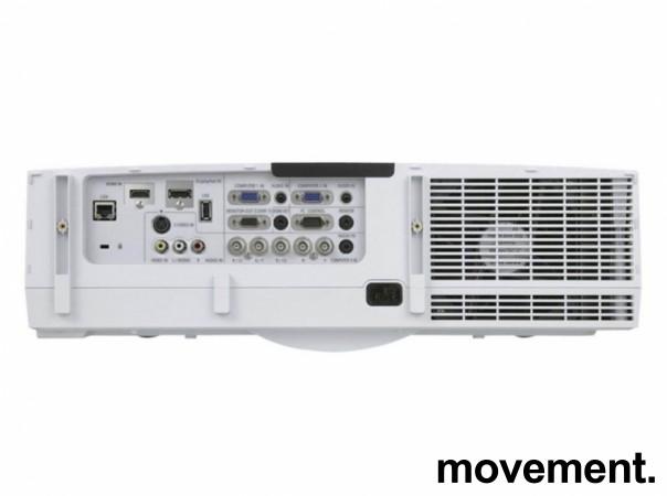 Prosjektor fra NEC: PA550W, 1280x800, HDMI, hele 5500 ansilumen, 1292 timer på pære bilde 2