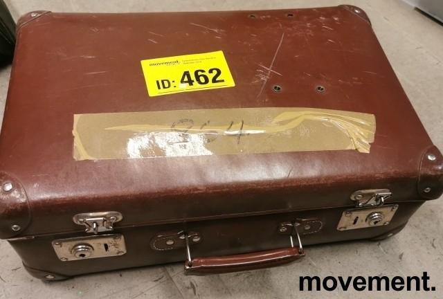 Morsom, vintage DIAS-fremviser fra Leitz med div tilbehør i brun koffert bilde 2