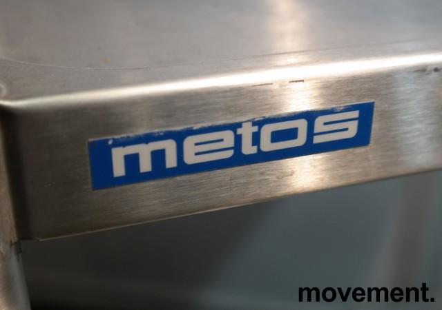 Kantinetralle / trillevogn i rustfritt stål fra Metos, 73x55x82cm, pent brukt bilde 3