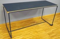 Loungebord / sofabord i sort, 100x40cm, høyde 54cm, pent brukt