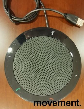 Jabra Speak 410 MS Lync, modell 7410-219, Bærbar høyttalertelefon for møterom etc, pent brukt bilde 2