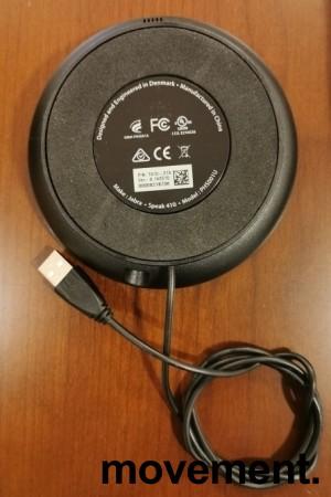 Jabra Speak 410 MS Lync, modell 7410-219, Bærbar høyttalertelefon for møterom etc, pent brukt bilde 3